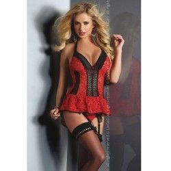 Babydoll Red Rose