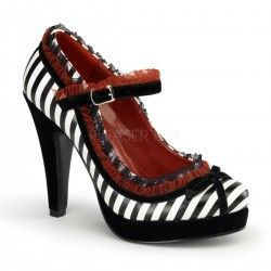 Zapato Pin Up Couture Bettie 18