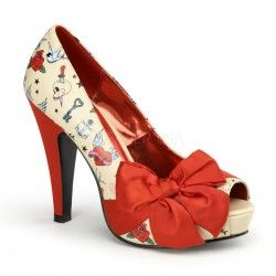 Zapato Pin Up Couture Bettie 13