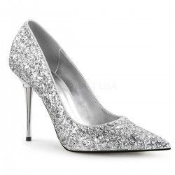 Zapato Stiletto Appeal 20G Plata