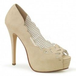 Zapato Pleaser Bella 30 TPU